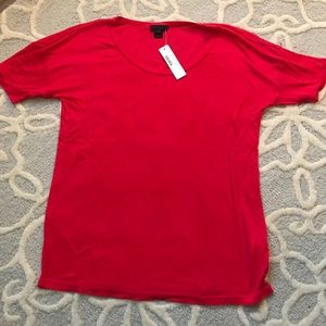 Jcrew collection cashmere tee
